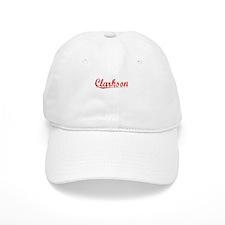 Clarkson, Vintage Red Baseball Cap