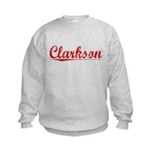 Clarkson, Vintage Red Sweatshirt