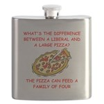 LIBERAL pizza Flask