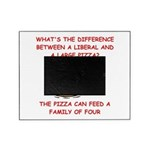 LIBERAL pizza Picture Frame