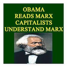 anti obama socialism gifts t-shirts Square Car Mag