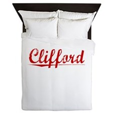 Clifford, Vintage Red Queen Duvet