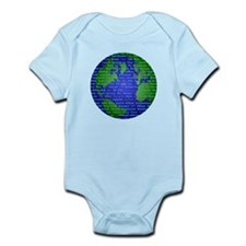 Peace On Earth Hebrew Infant Bodysuit