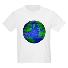 Peace On Earth Hebrew T-Shirt