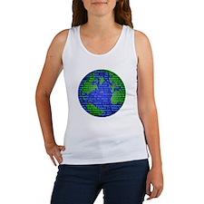Peace On Earth Hebrew Women's Tank Top