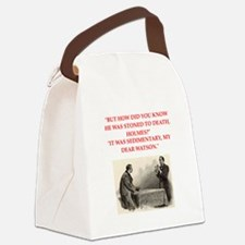 holmes joke Canvas Lunch Bag