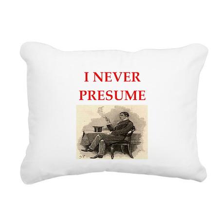 HOLMES1.png Rectangular Canvas Pillow