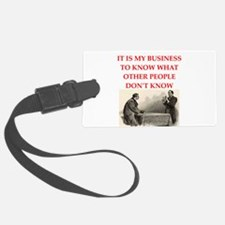 HOLMES2.png Luggage Tag