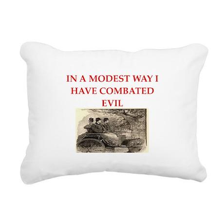 HOLMES11.png Rectangular Canvas Pillow