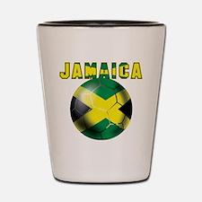 Jamaican Football Shot Glass