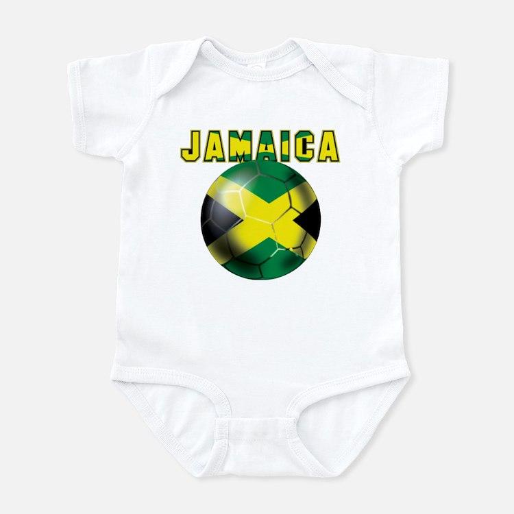 Jamaican Football Infant Bodysuit