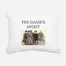 sherlock holmes Rectangular Canvas Pillow