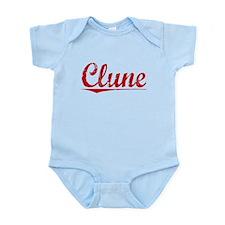 Clune, Vintage Red Onesie