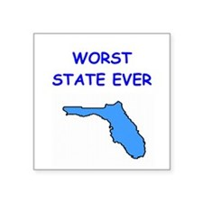 "FLORIDA.png Square Sticker 3"" x 3"""