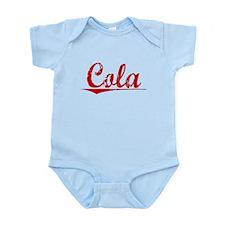Cola, Vintage Red Infant Bodysuit
