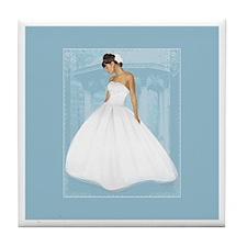 The Bride's Tile Coaster