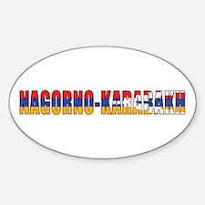 Nagorno-Karabakh Oval Decal