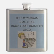 MICHIgAN. Flask
