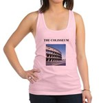 colisseum rome italy gifts Racerback Tank Top
