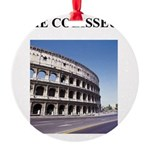 colisseum rome italy gifts Round Ornament