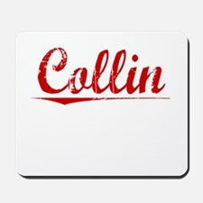 Collin, Vintage Red Mousepad