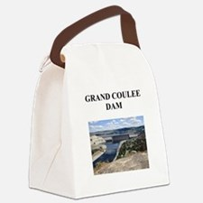 grand coulee dam Canvas Lunch Bag