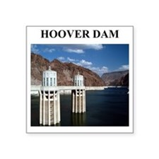 """hoover dam gifts Square Sticker 3"""" x 3"""""""