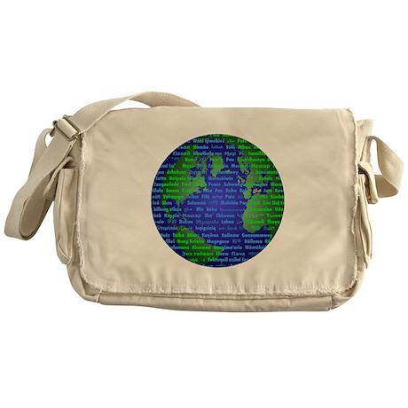 Peace On Earth Farsi Messenger Bag