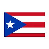 "Puerto rican flag 3"" x 5"""