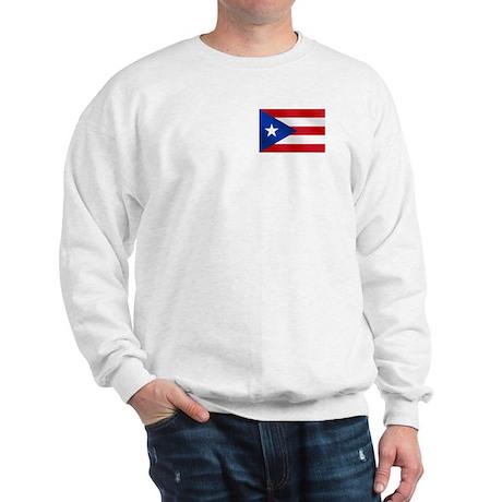 Puerto Rican Flag Sweatshirt