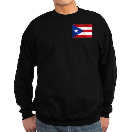 Puerto Rican Flag Sweatshirt (dark)
