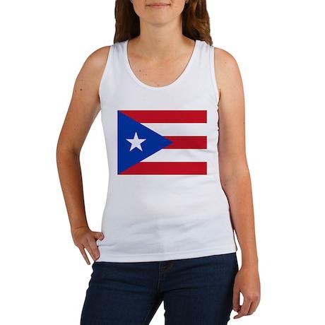Puerto Rican Flag Women's Tank Top