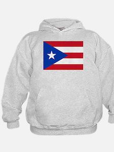 Puerto Rican Flag Hoodie