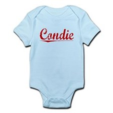 Condie, Vintage Red Infant Bodysuit