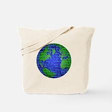 Peace On Earth Mandarin Tote Bag
