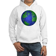Peace On Earth Mandarin Jumper Hoody