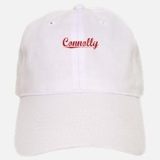 Connolly, Vintage Red Baseball Baseball Cap