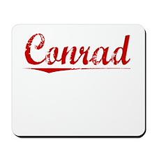 Conrad, Vintage Red Mousepad