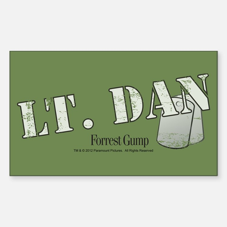 Lt. Dan Decal