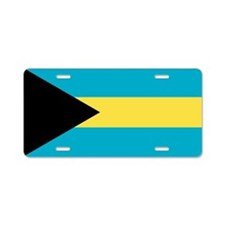 Flag of the Bahamas Aluminum License Plate