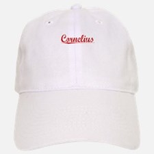 Cornelius, Vintage Red Baseball Baseball Cap