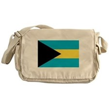 Flag of the Bahamas Messenger Bag