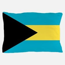 Flag of the Bahamas Pillow Case
