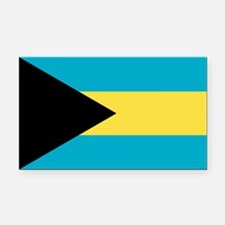 Flag of the Bahamas Rectangle Car Magnet