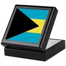 Flag of the Bahamas Keepsake Box