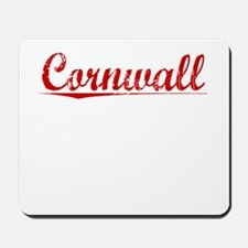 Cornwall, Vintage Red Mousepad