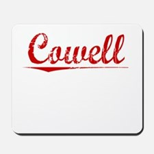 Cowell, Vintage Red Mousepad