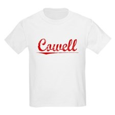 Cowell, Vintage Red T-Shirt