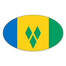 St Vincent Grenadines Flag Decal