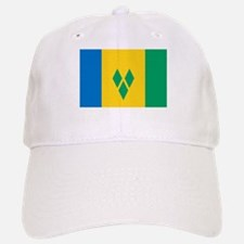 Saint Vincent Grenadines Flag Baseball Baseball Cap